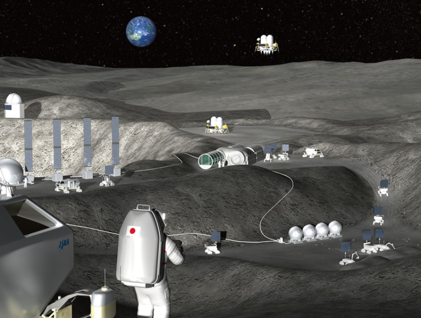 Japan looks at robots for the Moon
