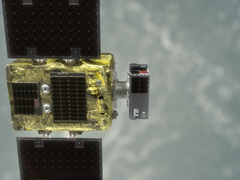 Another program successfully demonstrates docking in space